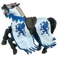 Papo Dragon King Horse, blue (39389)