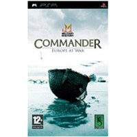 Military History - Commander Europe at War (PSP)