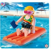 Playmobil Woman with Airbed (4681)