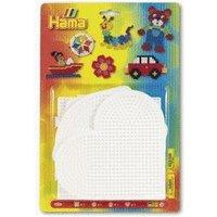 Hama Pegboards Round Heart Square Hexagon (4552)