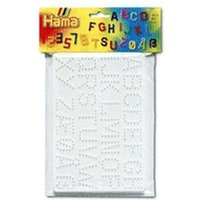Hama Letters & Numbers Pegboard (4455)