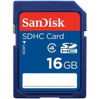 Sandisk Standard SDHC 16GB Class 4 (SDSDB-016G-B35)