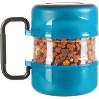Trixie Pet travelling set, blue, with 2 dishes