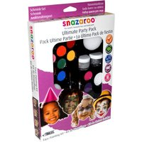 Snazaroo Face Paints - Party Pack Face Painting Kit