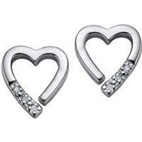 Hot Diamonds Memories Silver Earrings (DE110)