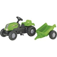 Rolly Toys rollyKid Tractor with Trailer green