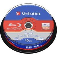 Verbatim BD-RE 25GB 135min 2x 10pk Spindle