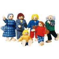 Goki Bending Dolls City Family