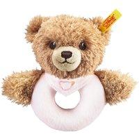 Steiff Sweet Dreams Rattle - Pink Bear 12 cm