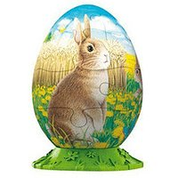 Ravensburger Easter Egg : Rabbit in a wheat field