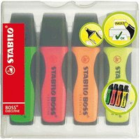 Stabilo Boss Executive pack of 4