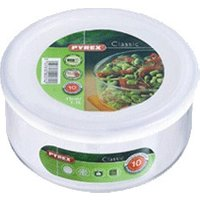 Pyrex Round Dish + Lid 1.1l