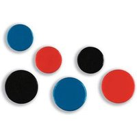 nobo Magnetic Markers - 20mm - Assorted