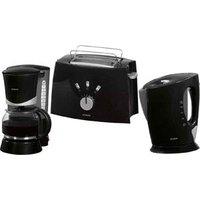 Bomann FS 1500 CB Black Breakfast Set