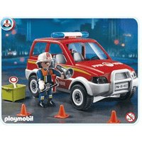 Playmobil Fire Chief's Car (4822)