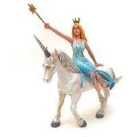 Plastoy Blue Fairy On Unicorn