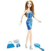 Barbie Glitz In Blue Dress