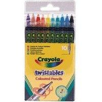 Crayola Twistable Coloured Pencils (10 Pack)