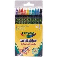 Crayola Twistable Coloured Pencils (10 Pack)