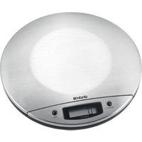 Brabantia Matt Steel Digital Kitchen Scales