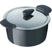 Kuhn Rikon Hotpan Serving casserole 18 cm black