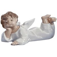 Lladro Angel Lying Down