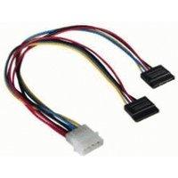 Hama Power Supply Cable 5.25 - 2x serial ATA (00034068)