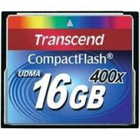 Transcend Premium Compact Flash 16GB 400x (TS16GCF400)