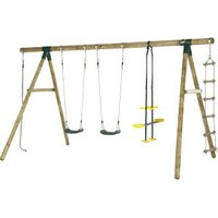 Plum Products Orang-Utan Wooden Garden Swing Set