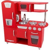 KidKraft Red Retro Kitchen Center
