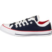 Idealo ES|Converse Chuck Taylor All Star Double Upper Ox obsidian/white/university red