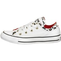 Idealo ES|Converse Chuck Taylor All Star Double Upper Ox white/multi/enamel red