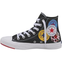 Idealo ES|Converse Chuck Taylor All Star Multi Logo Hi black