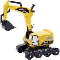 Falk Excavator Power Shift L100 Sit and Ride Yellow