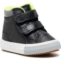Idealo ES|Converse Camp Converse Easy-On Chuck Taylor All Star High Top Kids black/lemon venom/ash stone