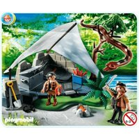 Playmobil Treasure Hunter's Camp with Giant Snake