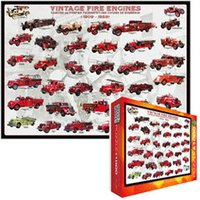Eurographics Puzzles Vintage Fire Engine