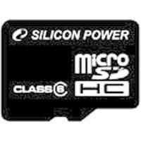 Silicon Power microSDHC 16GB Class 6 (SP016GBSTH006V10)