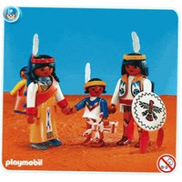 Playmobil Western Native American Family (7841)