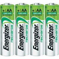 Energizer 4x AA / HR6 1300 mAh Rechargeable