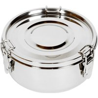 Relags Food Container, stainless steel, round - small