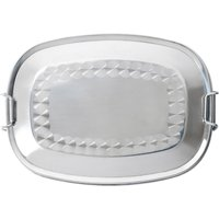 Relags Food Container, Stainless Steel, Oval - small