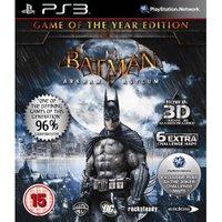 Batman: Arkham Asylum - Game of the Year Edition (PS3)