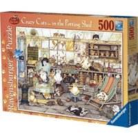 Ravensburger Crazy Cats In The Potting Shed