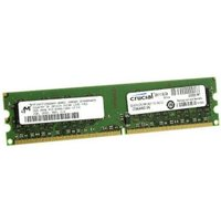 Crucial 2GB Kit DDR2 PC2-6400 CL5 (CT774458)