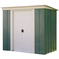 Rowlinson Greenvale Metal Pent Shed 8x4