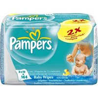 Pampers Baby Fresh Fragrance Free Wipes
