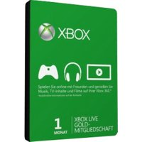 Microsoft Xbox Live Gold 1 Month