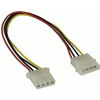 InLine 5,25 power supply extension cable, 4pin plug/socket 1m