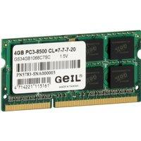 GEIL 4GB SO-DIMM DDR3 PC3-8500 CL7 (GS34GB1066C7SC)